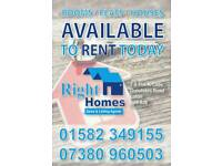 Rooms, Flats, Houses available Luton Register today !