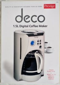 PRESTIGE DIGITAL COFFEE MAKER