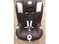 Britax 0-18kg First Class Plus car seat, Black, excellent condition £30