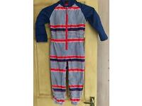 Unisex Mothercare all in one splash suit - 4-5 years