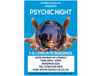 Psychic Night at Number 3 Flaming Grill Blackpool