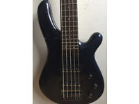 Fernandes Gravity 5X 5 String Electric Bass - Excellent Sounding Bass - Easy to play - 24 Frets