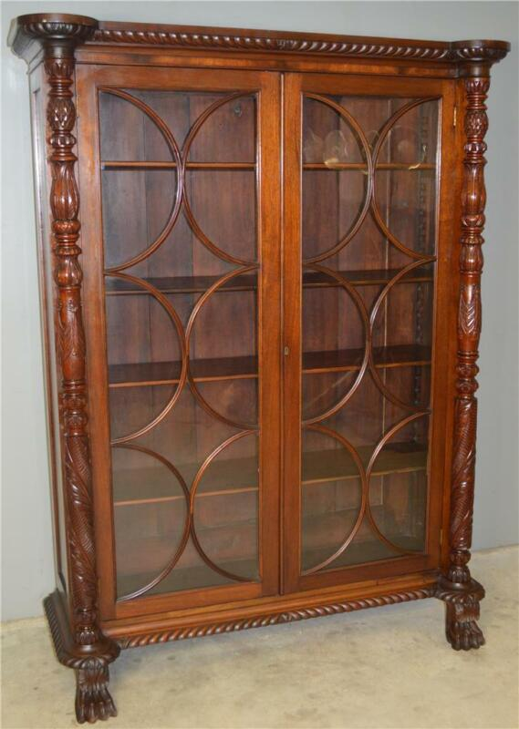 18842 Empire Acanthus Carved Centennial Cabinet
