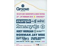 Groove Aviemore Feb 24th + transport