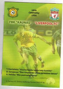 Orig-PRG-Champions-League-05-06-FBK-KAUNAS-FC-LIVERPOOL-RARE