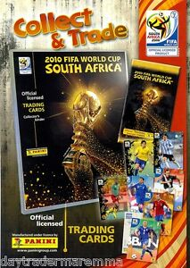 2010 New  Panini World Cup official flyer