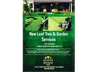 New leaf tree & garden services
