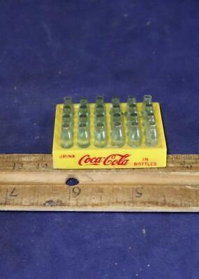 Vintage Mini Plastic Coca Cola Empty Case For Coke Bottles Trucks Etc Buddy L !