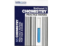 National 5 Chemistry Text Book - Practice papers - Leckie & Leckie
