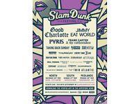 Slam dunk ticket 27/5