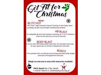 Get Fit for Christmas at the YMCA!