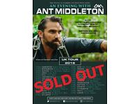 An Evening with Ant Middleton (Swansea, this Sat)