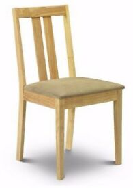 Rufford Dinning Chairs (Pair) RRP £ 54 - Brand New - Boxed