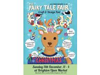 The Fairy Tale Fair - Brighton Christmas Craft fair at The Open Market