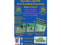 Football Coaching for Girls