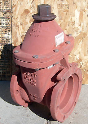 Main Gate Water Valve 250 Wp 6 Resilient Wedge