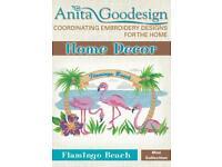 Beach Retreat Anita Goodesign Embroidery Machine Design CD NEW 10AGHD