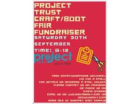 Craft boot fair fundraiser