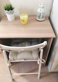 IKEA Oak Effect Wooden Desk
