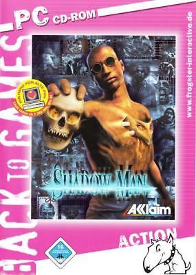 SHADOW MAN - PC KULT KLASSIKER - WINDOWS 95 / 98 / 98SE / ME -  (Shadow Man-pc)