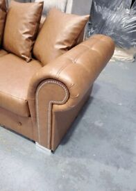 🔸🔸 NEW PU LEATHER ASHWIN 🔸🔸 CORNER SOFA AVAILABLE NOW IN STOCK