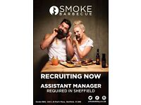 SMOKE Barbecue is looking for an experienced Assistant Manager