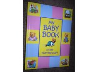 Illustrated - My Baby Book – First Five Years - £5