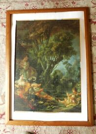 Very unusual Mounted 1500 Piece Jigsaw Measurements 36in/91cm x 24in/61cm