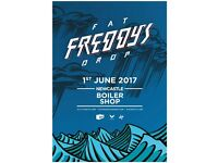 3x Tickets for Fat Freddy's Drop @ Newcastle Boiler Shop, Thursday June 1 - 7pm start