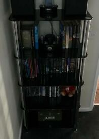 Black Glass Shelves