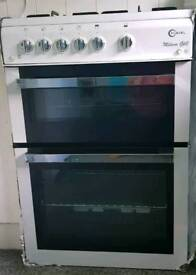 Cooker with oven and grill