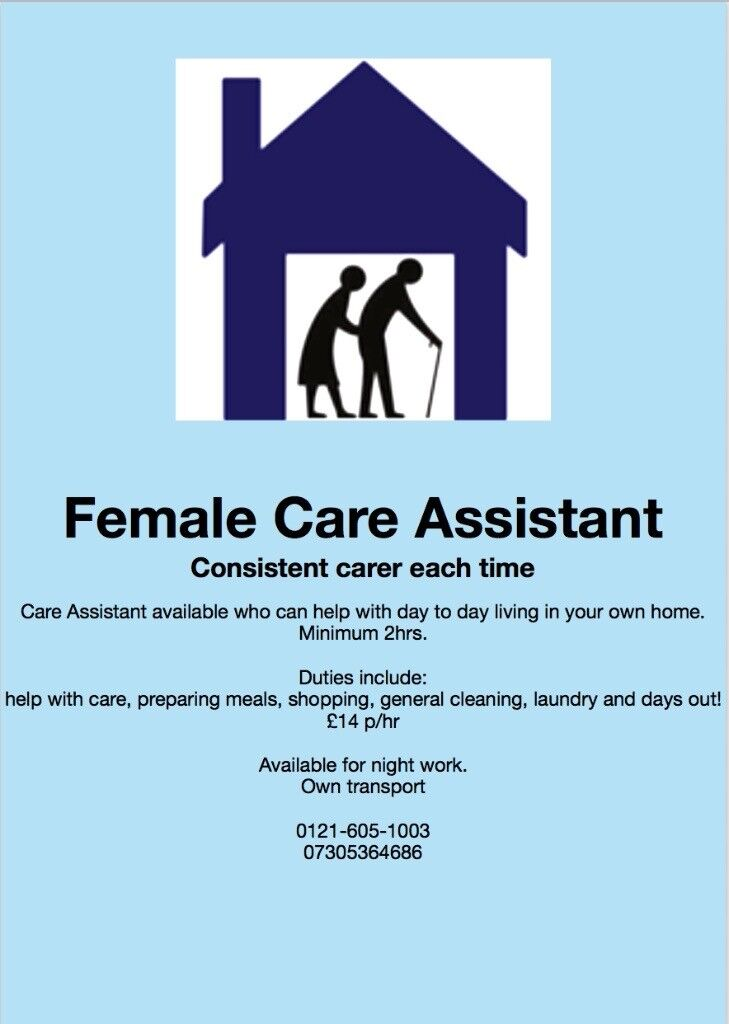 Female Care Assistant