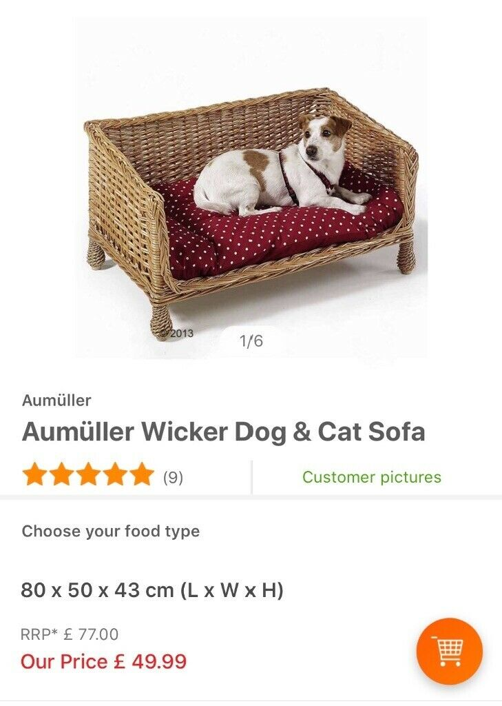Awe Inspiring Aumuller Dogcat Sofa Bed For Sale In Gracemount Edinburgh Gumtree Andrewgaddart Wooden Chair Designs For Living Room Andrewgaddartcom