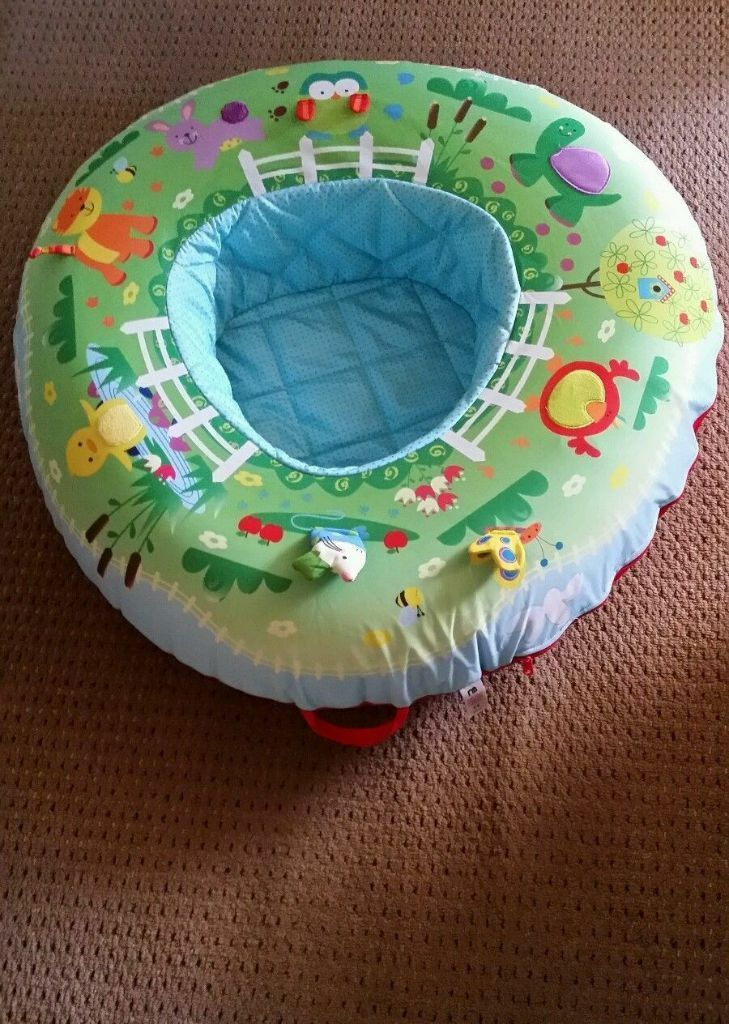 Mothercare Baby Play Inflatable Blow Up Seat Chair Nest