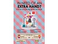In need of an Extra-Hand? (Cleaning, Parent Support, Companionship, Shopping, Pre & Post Op Support)