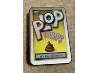 Like new Plop Trumps top trumps in tin