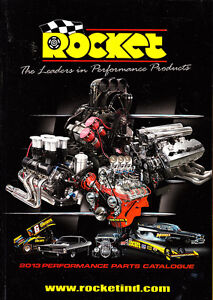 NEW 2013 Rocket Performance Parts Catalogue Hot Rod,Street Machine,Drag Products