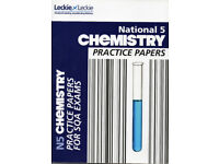 National 5 Chemistry Practice Papers published by Leckie & Leckie