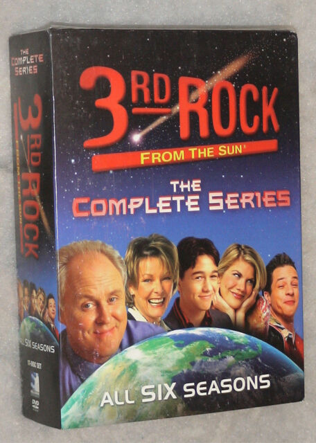 3rd Rock From the Sun Complete Season 1-6 (1,2,3,4,5,6) DVD Box Set SEALED