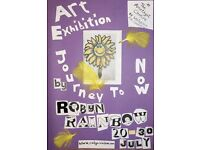 Art Exhibition 'Journey To Now' by Robyn Rainbow