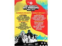 2 Big weekend tickets for Sat + shuttle