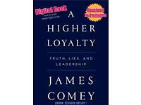 """James Comey """"A Higher Loyalty"""""""