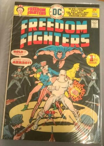 Freedom Fighters comic book issue 1 DC comics Bronze Age
