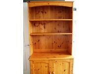 Solid pine kitchen dresser unit