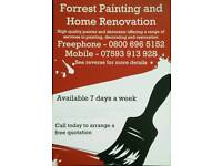 Forrest Painting and Home Renovation - Painter and decorator - Freephone