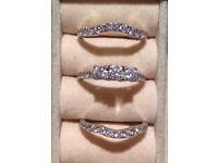 2ct Diamond Engagement Ring and Wedding Ring Set