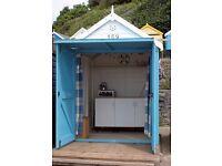 Beautiful Beach Hut at Middle Chine. Just Refurbished and Fully Equipped