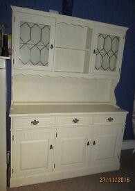 Beautiful cream Dresser / cabinet