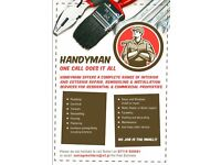 Handyman!!! One call does it all