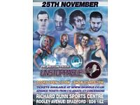 Tickets to Family Friendly Wrestling Show 25th November - Bradford